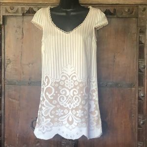 Free People New Romantics White Lacey Dress